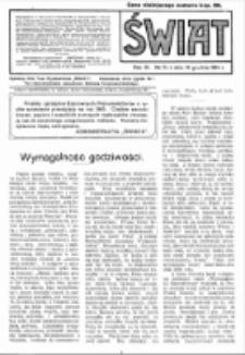 Świat : pismo tygodniowe ilustrowane poświęcone życiu społecznemu, literaturze i sztuce. R. 9 (1914), nr 51 (19 grudnia)