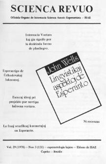 Sceinca Revuo. Vol. 29, no 3 (1978)