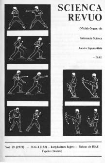 Sceinca Revuo. Vol. 29, no 4 (1978)