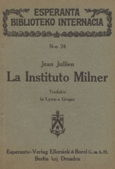 La Instituto Milner.