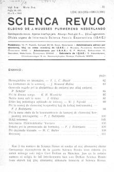 Scienca Revuo. Vol. 1, no 3 (1949)