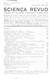 Scienca Revuo. Vol. 2, no 4 (1950)