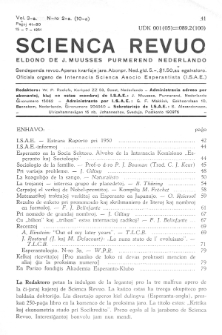Scienca Revuo. Vol. 3, no 2 (1951)