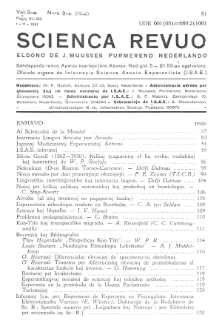 Sceinca Revuo. Vol. 3, no 3 (1951)