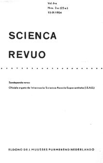 Sceinca Revuo. Vol. 6, no 2 (1954/1955)