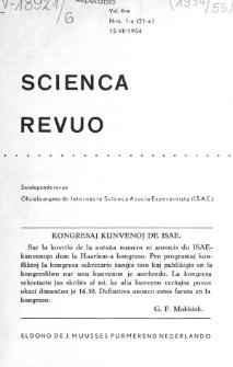 Sceinca Revuo. Vol. 6, no 1 (1954/1955)