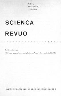 Sceinca Revuo. Vol. 6, no 3 (1954/1955)