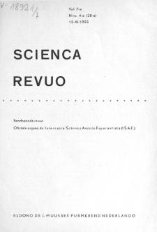 Sceinca Revuo. Vol. 7, no 4 (1955)