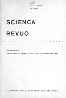 Sceinca Revuo. Vol. 7, no 2 (1955)