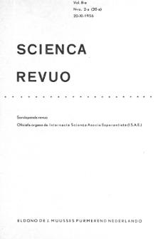 Sceinca Revuo. Vol. 8, no 2 (1956/1957)