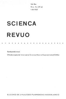 Sceinca Revuo. Vol. 8, no 3 (1956/1957)