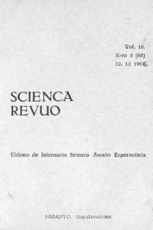 Scienca Revuo. Vol. 16, no 2 (1966)