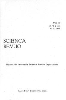 Sceinca Revuo. Vol. 17, no 2 (1966)