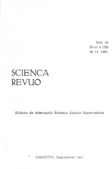 Sceinca Revuo. Vol. 18, no 4 (1967)