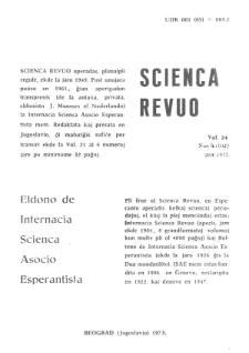 Sceinca Revuo. Vol. 24, no 4 (1973).