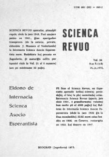 Sceinca Revuo. Vol. 24, no 5 (1973).