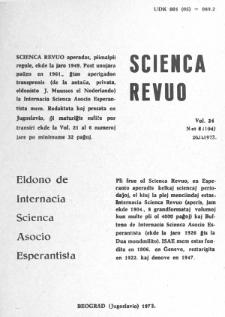 Sceinca Revuo. Vol. 24, no 6 (1973).