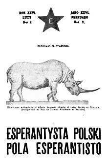 Pola Esperantisto : esperantaj sciigoj por pollingvanoj. Jaro 26, no 2 (Februaro 1932)