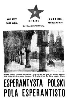 Pola Esperantisto : esperantaj sciigoj por pollingvanoj. Jaro 24, no 2 (Februaro 1930)