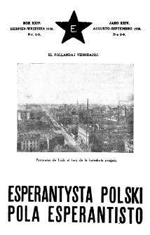 Pola Esperantisto : esperantaj sciigoj por pollingvanoj. Jaro 24, no 8-9 (Aŭgusto-Septembro 1930)