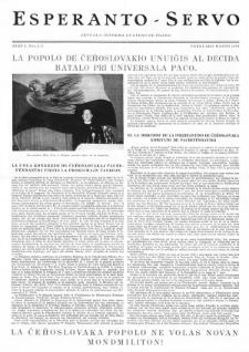 Esperanto Servo : aktuala informa bulteno de Praha. Vol. 4, no. 2/3 (1951)