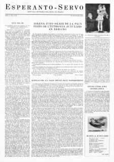 Esperanto Servo : aktuala informa bulteno de Praha. Vol. 4, no. 8/9 (1951)