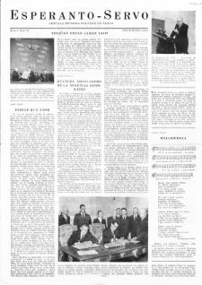 Esperanto Servo : aktuala informa bulteno de Praha. Vol. 4, no. 12 (1951)