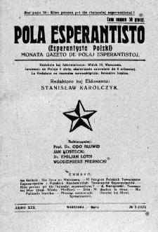 Pola Esperantisto. Jaro 19, no 3=113 (Marto 1925)