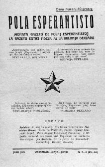 Pola Esperantisto. Jaro 17, no 7-8=93-94 (Majo-Junio 1923)