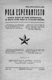 Pola Esperantisto. Jaro 17, no 9=95 (Oktobro 1923)