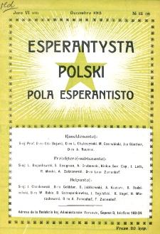 Pola Esperantisto. Jaro 6=8, no 12=80 (Decembro 1913)
