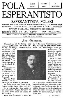 Pola Esperantisto : esperantaj sciigoj por pollingvanoj. Jaro 29, no 3 (Marto 1935)