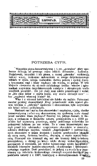 Krytyka : miesięcznik społeczny, naukowy i literacki. Krytyka. R. 1, z. 7 (1896)