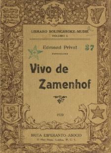 Vivo de Zamenhof.