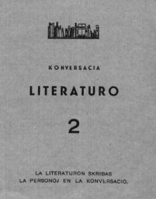 Konversacia Literaturo. 2