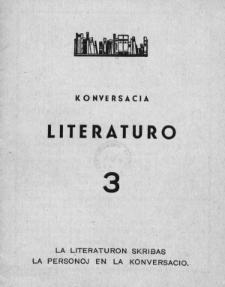 Konversacia Literaturo. 3