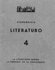 Konversacia Literaturo. 4