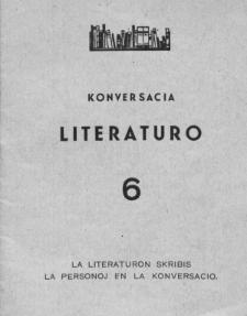 Konversacia Literaturo. 6