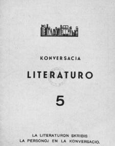Konversacia Literaturo. 5