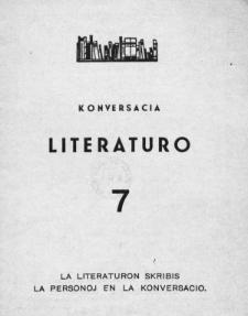 Konversacia Literaturo. 7