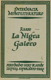 La nigra galero.