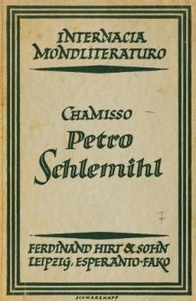 La mirinda historio de Petro Schlemihl.