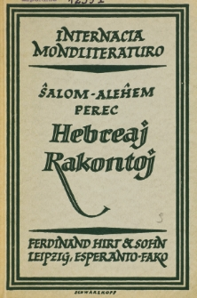 Hebreaj Rakontoj.