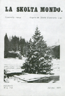 La Scolta Mondo. Vol. 5, n. 7/8 (1976/1980)