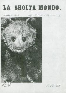 La Scolta Mondo. Vol. 5, n. 12 (1976/1980)