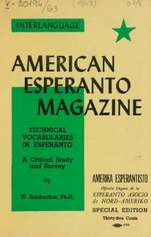 Amerika Esperantisto. Vol. 63, No 7/8 (1949)