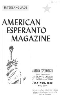Amerika Esperantisto. Vol. 67, No 7/8 (1953)