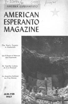 Amerika Esperantisto. Vol. 71, No 1/2 (1957)