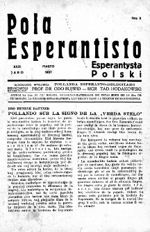 Pola Esperantisto : esperantaj sciigoj por pollingvanoj. Jaro 31, no 3 (Marto 1937)