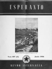 Esperanto : revuo internacia : oficiala organo de Universala Esperanto Asocio. Jaro 49, n. 607 (1956)